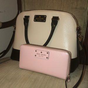 Kate Spade Pink Large Wallet